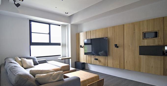 小户型也可以做电视墙!小电视墙装修要点你还不知道?