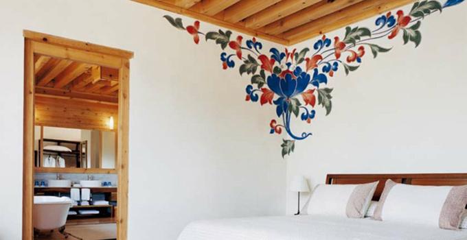 涂鸦墙手绘为什么出现在我们的家里呢?