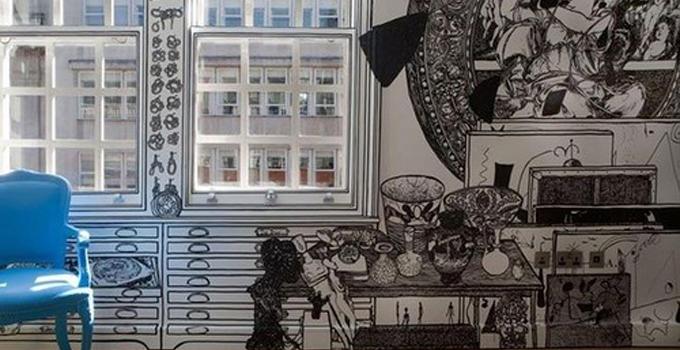 涂鸦墙体画:简单的画笔画出创意的世界