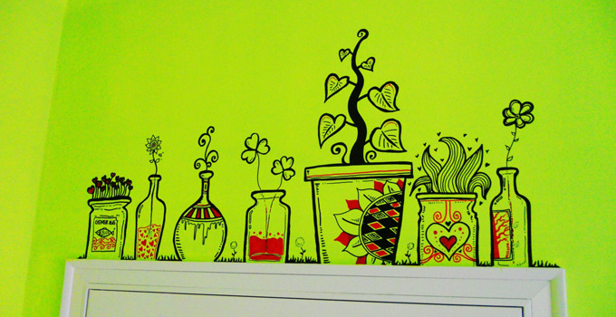 点亮生活的趣味涂鸦体验