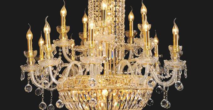 客厅水晶吊灯安装方法