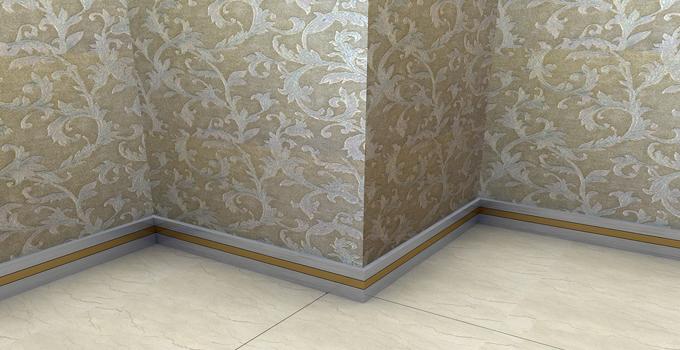 一,瓷砖踢脚线的安装步骤