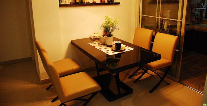 不同风格的四人餐桌尺寸不一样哦,这些你都清楚吗?