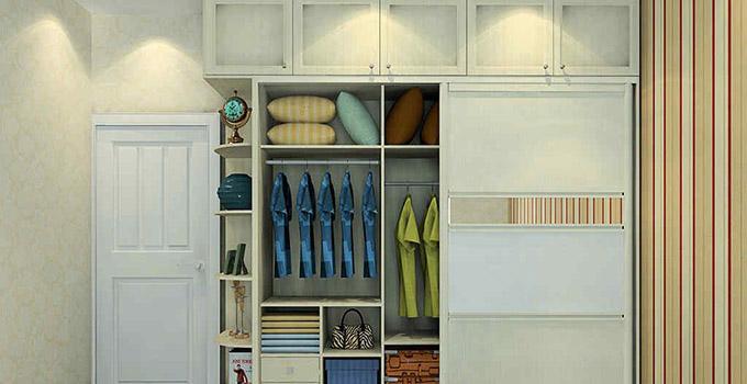 小户型家庭的福音,你们也可以拥有大衣柜哦!