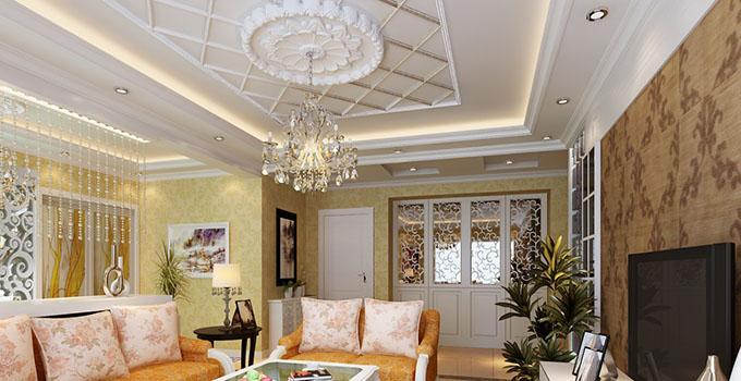 客厅吊顶设计形式,客厅吊顶设计重点