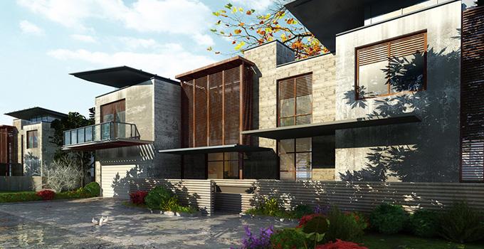 别墅景观设计 别墅景观风水有讲究图片