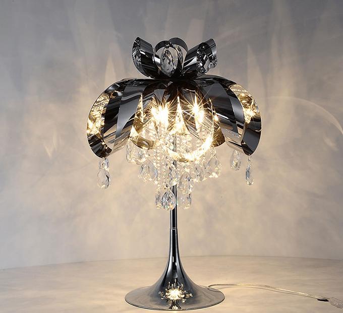 水晶台灯如何选购?这几招就能买到超值的水晶台灯!