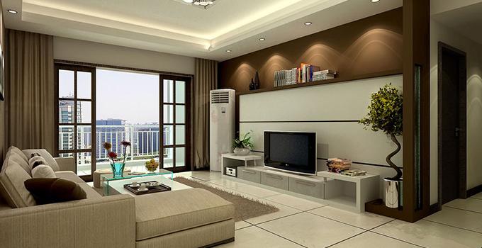 小客厅电视墙设计这样做!你的客厅更显宽敞
