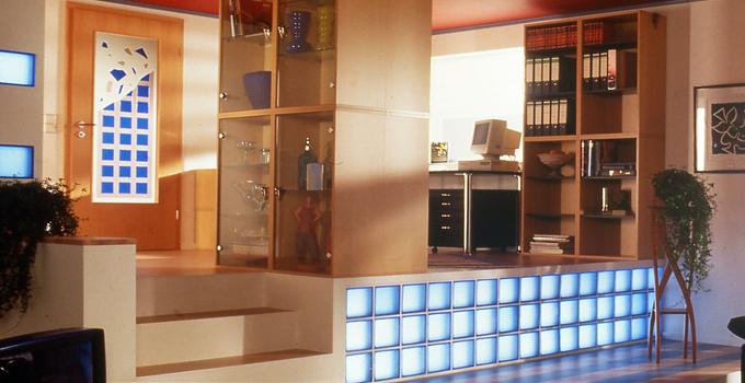 玻璃砖隔断 施工步骤及验收技巧大放送