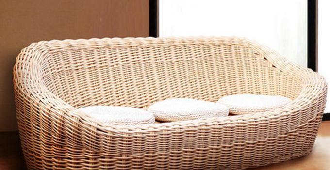 柳编沙发的四个优点你都了解吗?