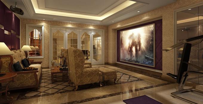 别墅家庭影院设计 你家也可以拥有!