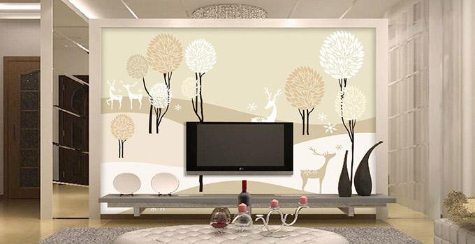 客厅背景墙壁画的风水知识大揭秘