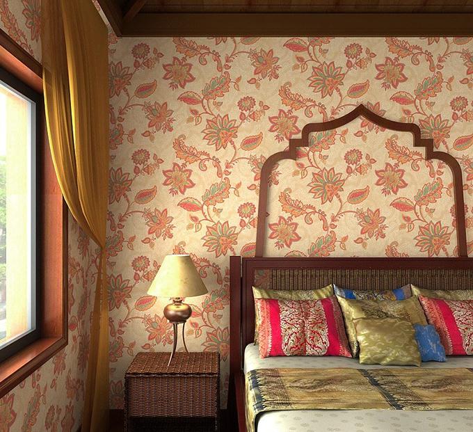 东南亚风格壁纸如何搭配才能好看又有特色?