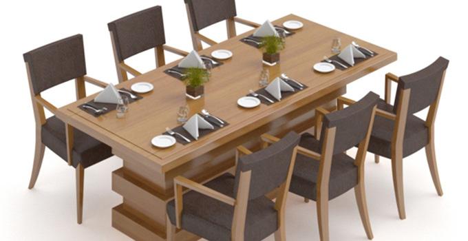 8人中式餐桌的尺寸选购和餐桌礼仪