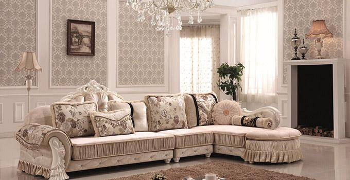 布艺欧式家具之布艺欧式沙发特点介绍