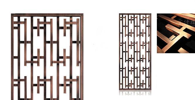 不锈钢玄关屏风介绍以及效果图欣赏