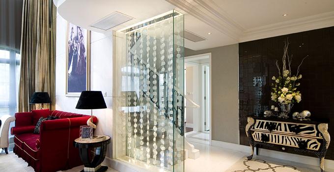 玻璃隔断装饰怎样做才能更有艺术感呢?