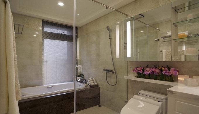 玻璃门窗安装之浴室玻璃门安装注意事项