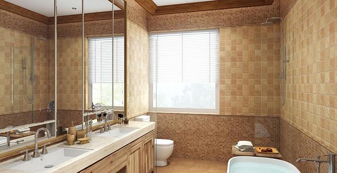 浴室玻璃窗如何清洗?不同污渍清洁方法不一样哦!