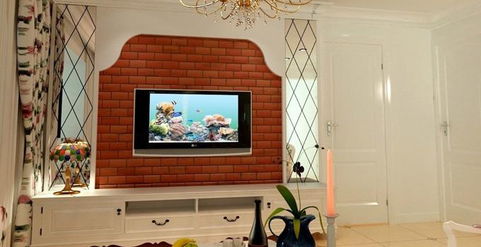 隔断效果最佳 餐厅客厅隔断电视墙推荐