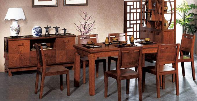 实木就是难伺候 小编四招搞定餐厅实木家具