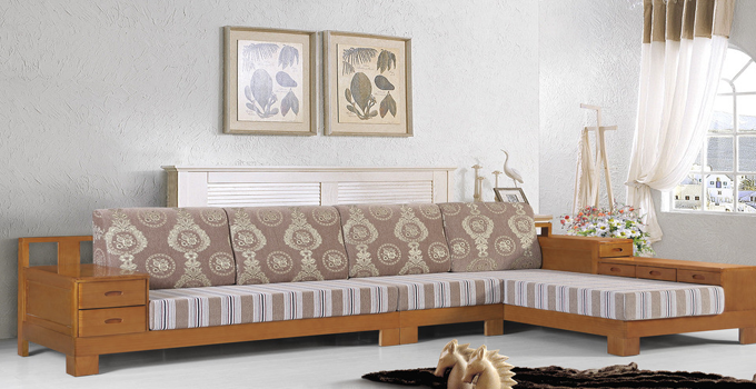 布藝沙發和實木沙發的特點詳解