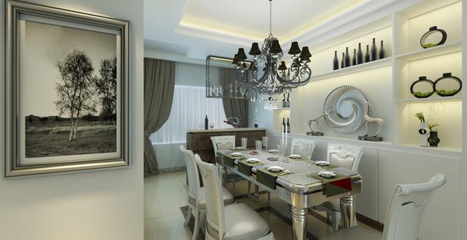 餐厅欧式水晶吊灯和现代吊灯大比拼