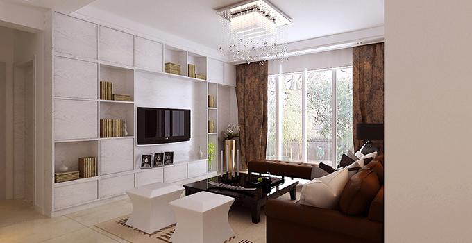 收纳型电视墙,既好用又美观!