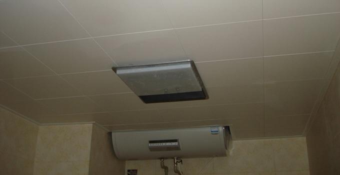 浴霸吊顶的安装步骤,装好了冬天不怕冷!