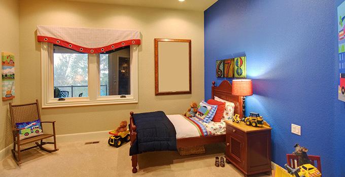 环保和美观兼具 儿童房装修设计控制污染方法