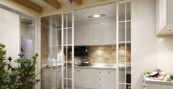 厨房隔断该如何设计 多种材质供你选择