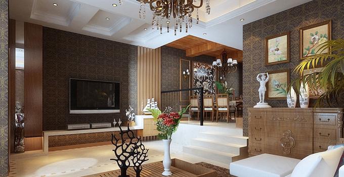 客厅如何吸引人?电视背景墙的设计最重要