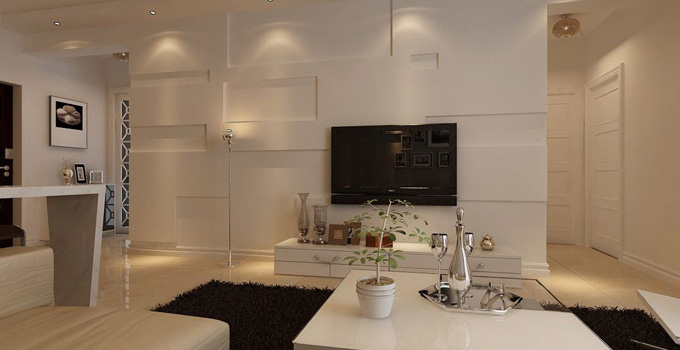 规划好空间大小 客厅背景墙的设计介绍
