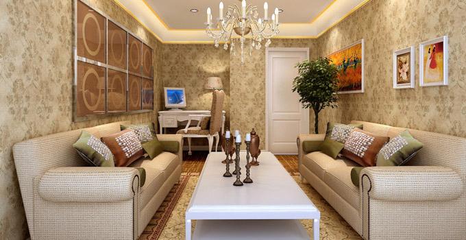 客厅墙面装饰技巧 客厅壁纸设计的介绍