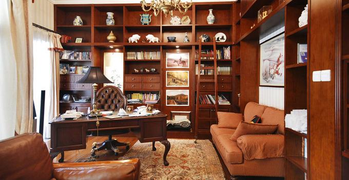 书房的完美打造 只需要遵循四个步骤