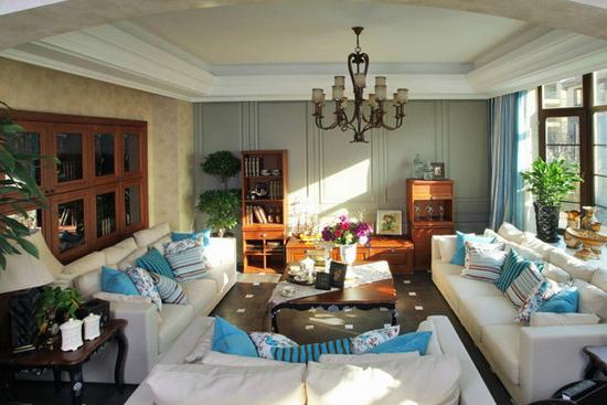 欧式客厅装饰设计!就是这么好看