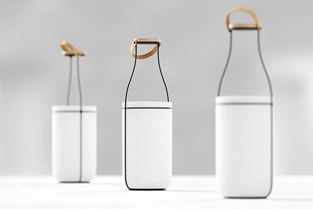 与众不同的奶瓶灯