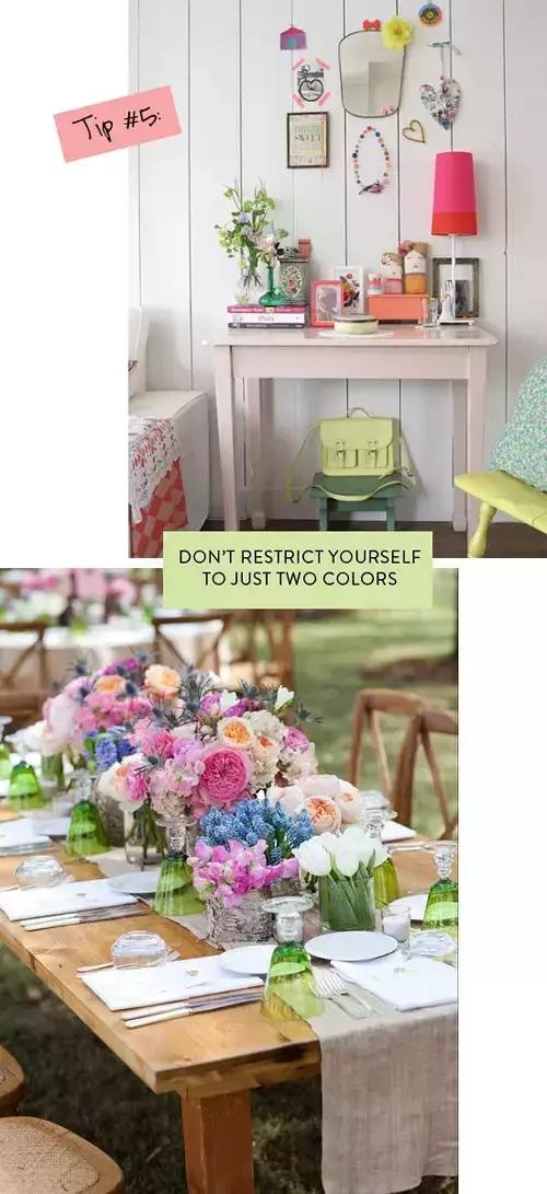 每个小公举都要学会的家居色彩搭配技巧