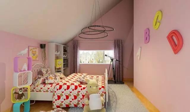 这才是儿童房,你家的只是小房间