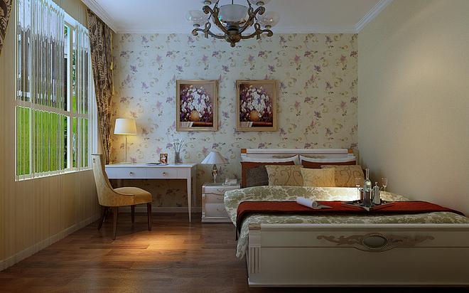 豪华装修的单身公寓 62㎡欧式二居