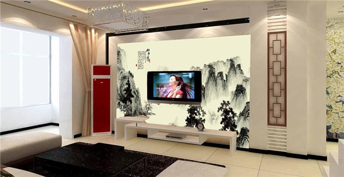 告别土low!6款电视背景墙设计