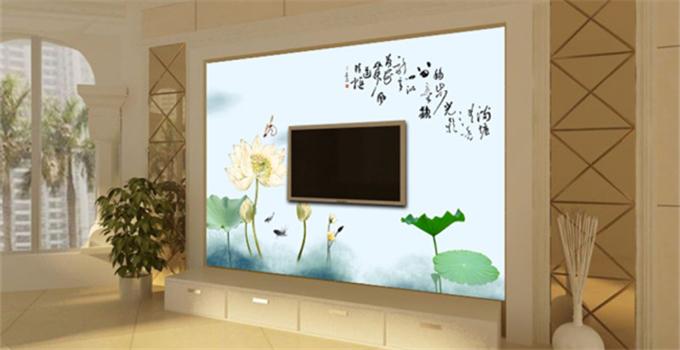 液晶电视背景墙 你家怎么装?