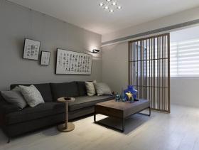 现代中式设计四居室欣赏