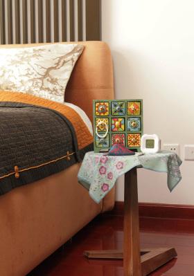 原木色中式卧室设计