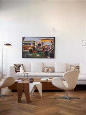 客厅简约设计