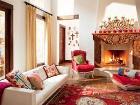 多色彩混搭风格别墅设计