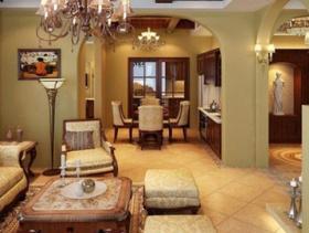 豪华欧式客厅最新图片