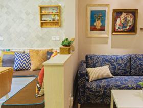 混搭风格一居室设计