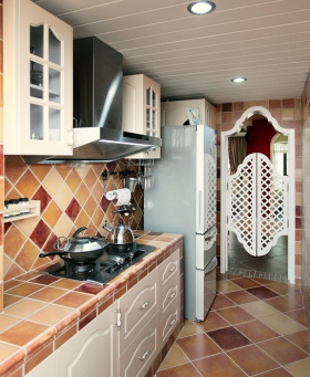 地中海彩色厨房欣赏
