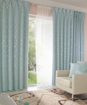 地中海浪漫卧室窗帘布置